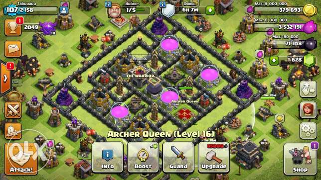 Clash of clan acount for sale الفروانية -  1