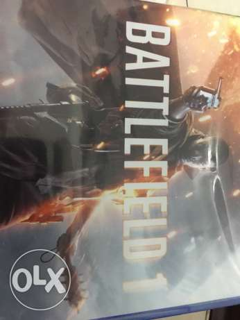 Battlefield 1 PS4 CD