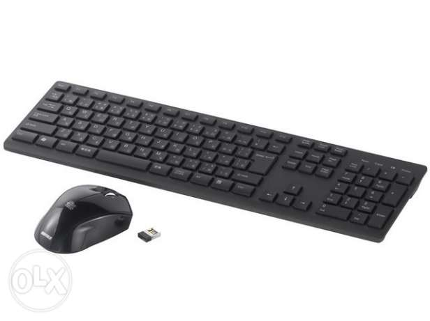 iBuffalo Simpring Wireless keyboard & Mouse (JAPAN) - FREE DELIVERY