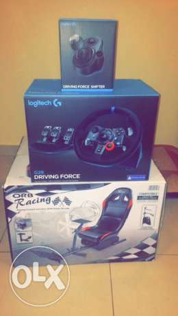 LOGITECH G29 driving full set