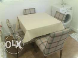 Genuine deal, cozy dining set, table and chairs for just 19 KD