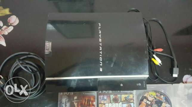 PlayStation 3 (with 3 games)