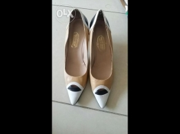 Never used leather shoes for sale