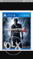 Uncharted 4 for sale or exchange with battlefield 1