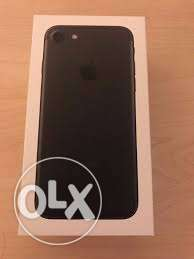 Brand new sealed box iphone 7 plus 256gb matte black