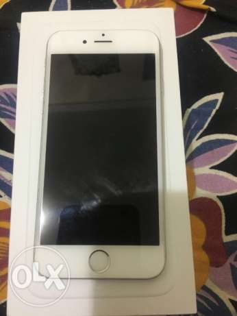 iPhone 6 silver color 128 gb