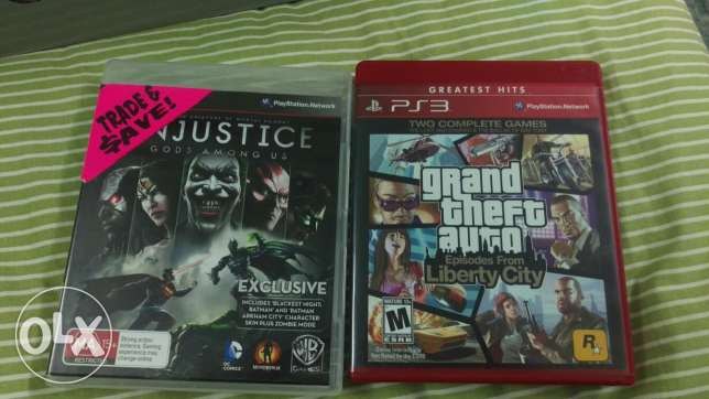Ps3 games Injustice, GTA IV