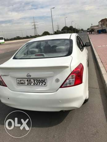 Nissan sunny2013 good condition Al the best price 1550