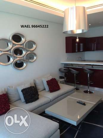 awesome seaview 1 bedroom in Mangaf المنقف -  7