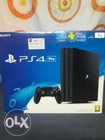 Sony PlayStation 4 Pro Gaming Console 1TB (PAL) Black