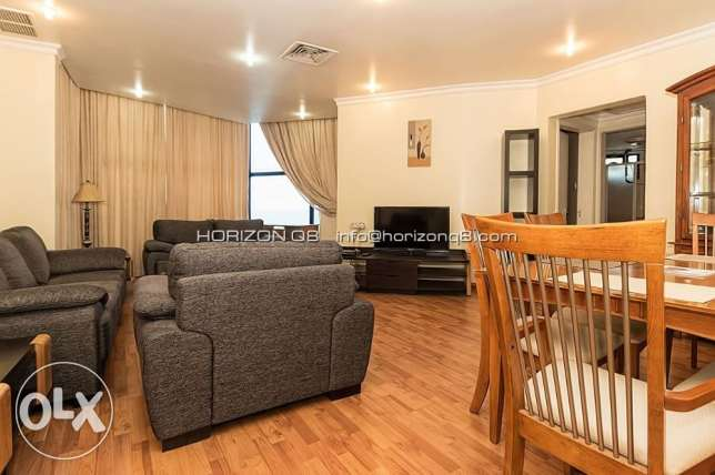 Sea view, 2 bdr furnished apartment for expats in Mahboola