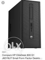 HP 800 G1 Desktop Complete Set (New)