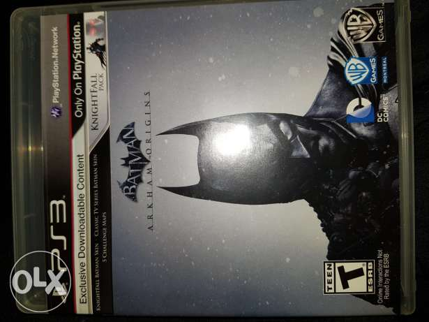 Bat man arkham origins ps3
