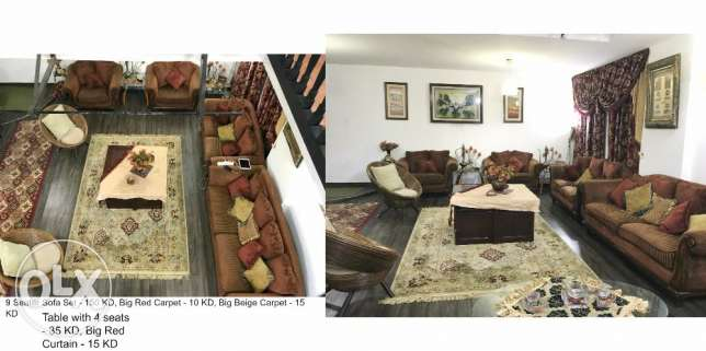 Furnished 5 Bed Spacious Duplex in Salwa (Rent 500 KD Only)