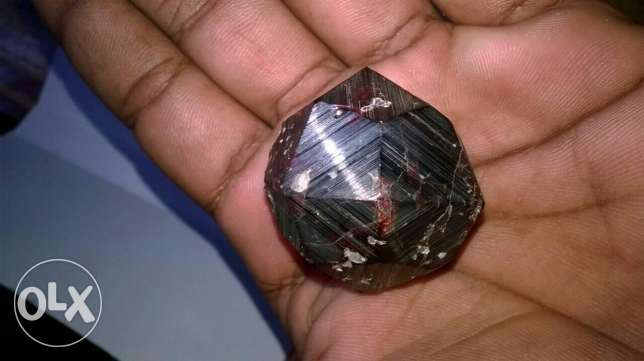 Indian red garnet gemstone