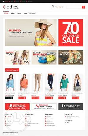 Ecommerce Website for Sale at KWD 99 ONLY