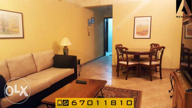 One bedroom serviced apartment in Al Salmiya, for expats only