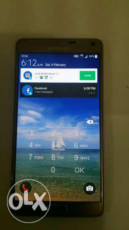 Samsung note 4 good condition