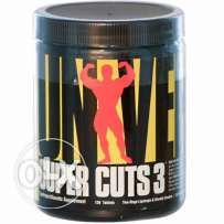 Universal Nutrition Super Cuts 3 Fat Burner - 130 Tablets