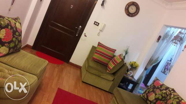 FULL furnished flat available for rent from 25 May 2017 and onwards