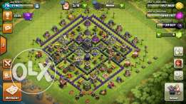 TH 9 Clash of Clans Account
