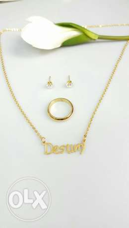Gold plated set buy 1 take 1
