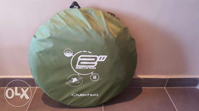 Camping Tent 2 seconds - Decathlon السالمية -  2