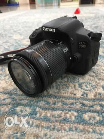 Canon 700d with lenses
