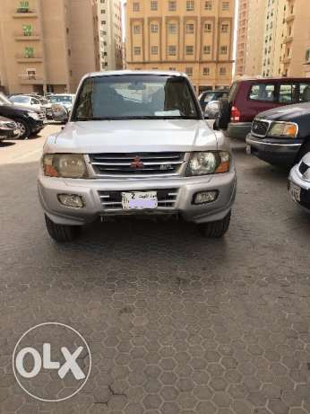 Mitsubishi Pajero 2002 model 6 cylinder for sale