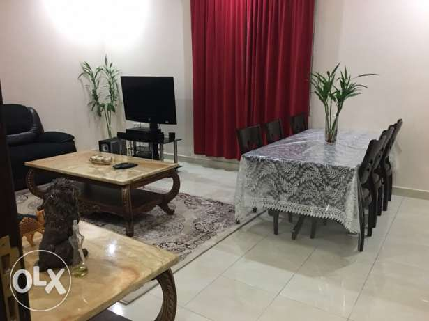 fully furnished 3 bedrooms in villa apt in fintas