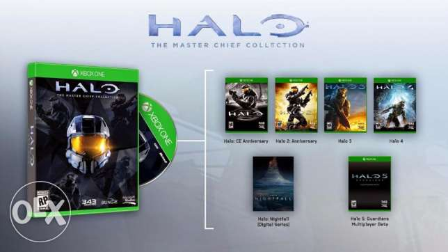 Halo: The Master Chief Collection Xbox One - Digital Code السالمية -  1