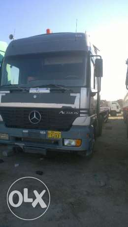 For sale Mercedes truck with flat bed