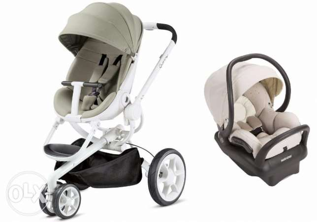 Quinny Moodd Travel System Natural Delight With Stroller