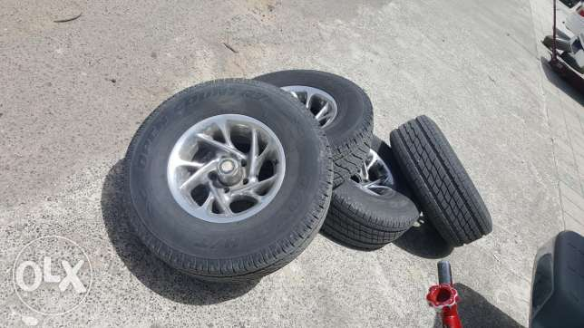 New tires TOYO and 15 Inch rims original Chevy Van