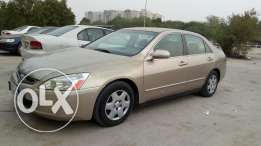 Full condition gold colour HONDA accord for sale