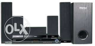 Wansa 5.1Ch All-in-One Home Theater System with HDMI (BK-722AC)