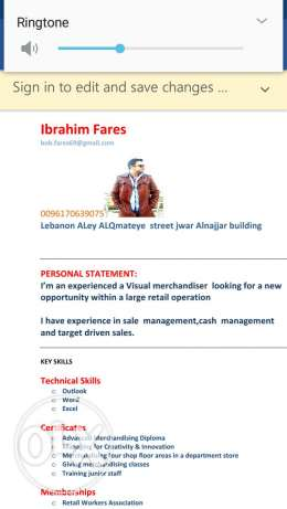 Visual merchandiser manager need a job