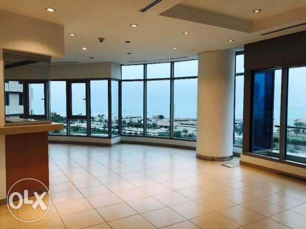 Beautiful and spacious 3BR Unfurnished apartments with seaview