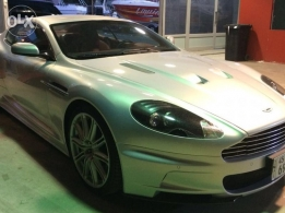 Aston martin DBS 2009 silver in Exellent condition for sale