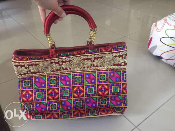 brand new Indian styled bag