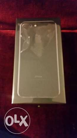 Iphone 7 plus black 128 gb new