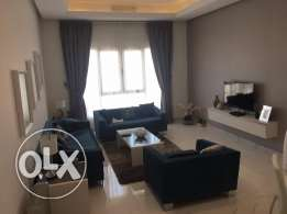 Full sea view 3 bedroom semi unfurnished apartment in Shaab 770KD