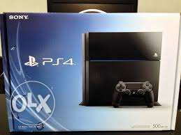 Playstation 4 500gb new and sealed