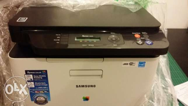 Samsung printer 3 in 1 Xpress C480W Smart printing solution سلوى -  2