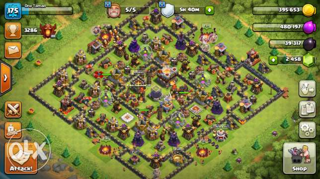 Clash of Clans Account For Sale TH 11 Level 175 (iOS Device)