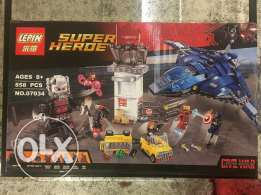 Building blocks Captain America civil war, super big set