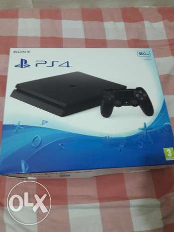 PS 4 Slim 500GB Brand New.