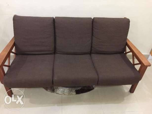 Wooden Sofa set 3+2+1 for sale