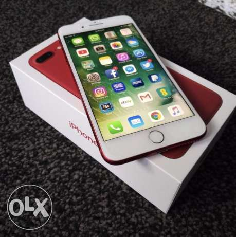 Brand New Original Apple IPhone 7 plus Red sealed in Box