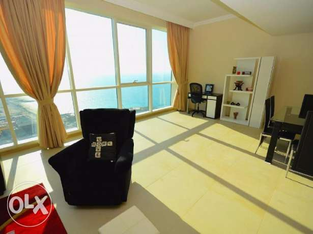 Salmiya - super deluxe 3 bedroom apartment with full sea view KD 920